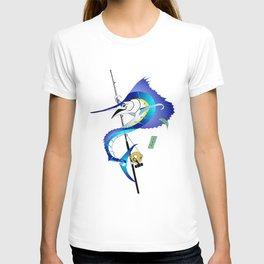 Sailfish Pole Dancer T-shirt