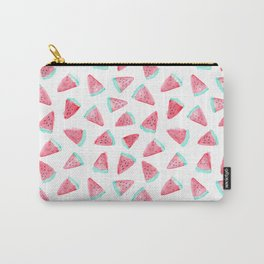 Watermelon watercolor pattern Carry-All Pouch