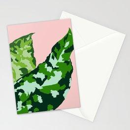 Aglaonema pictum tricolor Stationery Cards