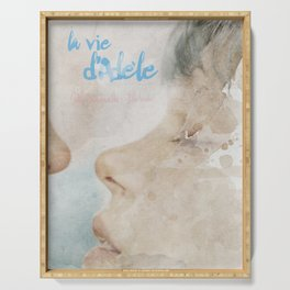 La vie d'Adele, movie poster - chapter two - alternative playbill Serving Tray