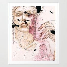 Subjektivität Art Print