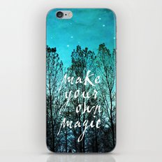 make your own magic iPhone & iPod Skin
