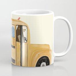 little yellow bus Coffee Mug