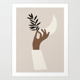 Hand 3 Art Print