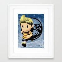 lucas david Framed Art Prints featuring Lucas by ScoDeluxe