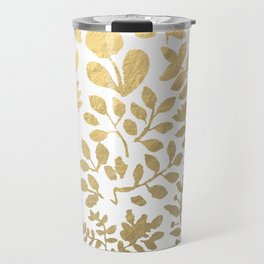 Botanica - gold Travel Mug