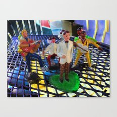 Psycho Plastic Band Canvas Print