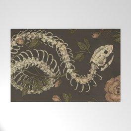 Snake Skeleton Welcome Mat
