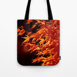 AUTUMN LEAVES - RED MAPLE Tote Bag