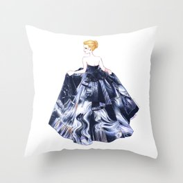 Nightgown Throw Pillow