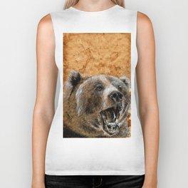 Grizzly bear Biker Tank