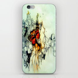 Where the butterflies lay iPhone Skin