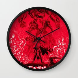 Tengen Toppa Gurren Lagann Wall Clock