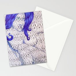 Tessellated Woman Stationery Cards