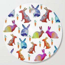 Rabbits Joy Cutting Board