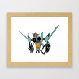 Look up! Framed Art Print