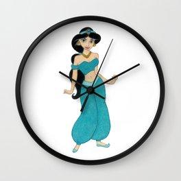 Princess Jasmin Wall Clock