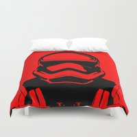 trooper Duvet Covers featuring Trooper  by Rabassa
