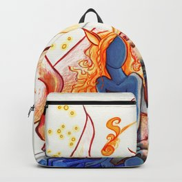 The Fox of Many Tales Backpack