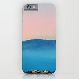 La Gomera, El Hierro from the top of Teide iPhone Case