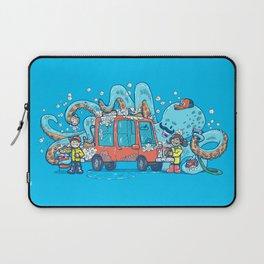 Octopus Carwash Laptop Sleeve
