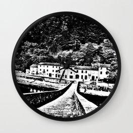 Ponte della Maddalena Wall Clock