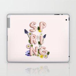 Rose Gold Spring Flower Blush Laptop & iPad Skin