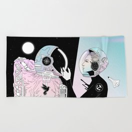 I Found a Place for Us (Summer Pastel) Beach Towel