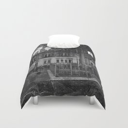 Paris road Duvet Cover