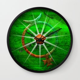 The Mighty Nuffin Muffin Wall Clock