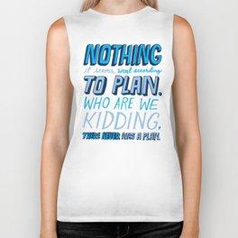 No Plan Biker Tank