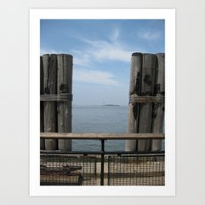 Liberty in the Distance Art Print