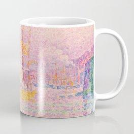 "Paul Signac ""Harbour at Marseilles"" Coffee Mug"