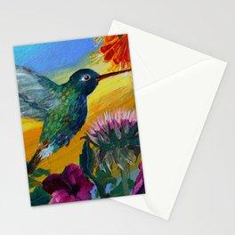 Her Hummingbird Stationery Cards