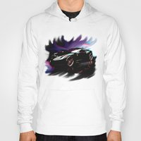 ferrari Hoodies featuring New Ferrari by JT Digital Art