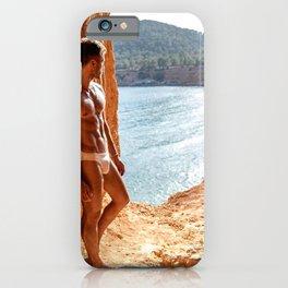 Golden Boy iPhone Case