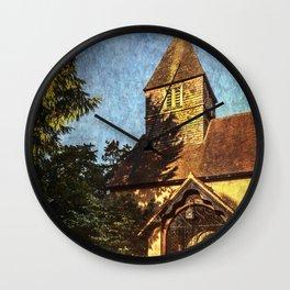 St Laurence Church Tidmarsh Wall Clock