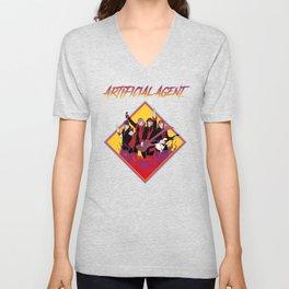 Artificial Agent Rock Shirt Unisex V-Neck