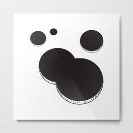 Empty holes Metal Print