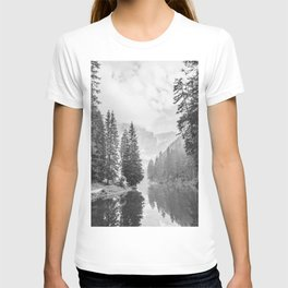 The Perfect View (Black and White) T-shirt