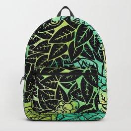 Leafy YingYang Backpack