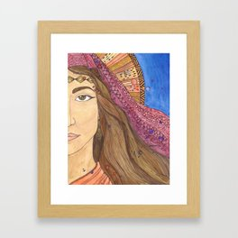 Phoebe Framed Art Print