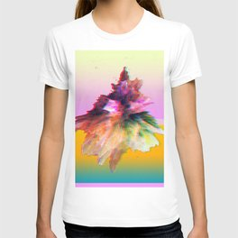 Clashing Stars Print T-shirt