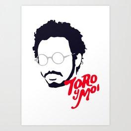 Toro Y Moi - Minimalistic Print Art Print