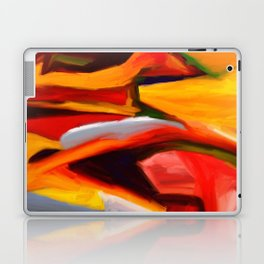 The Present Abstract Landscape Laptop & iPad Skin