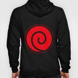 Naruto Uzumaki Clan Symbol Minato Yondaime Anime Men's Black Naruto T-Shirts Hoody