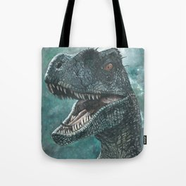 Jurassic Raptor Tote Bag