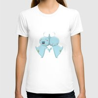 gemini T-shirts featuring Gemini  by Daniel Tee