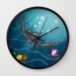 LEATHERBACK TURTLE Wall Clock