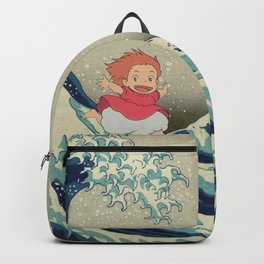 Ponyo and the Great Wave Backpack